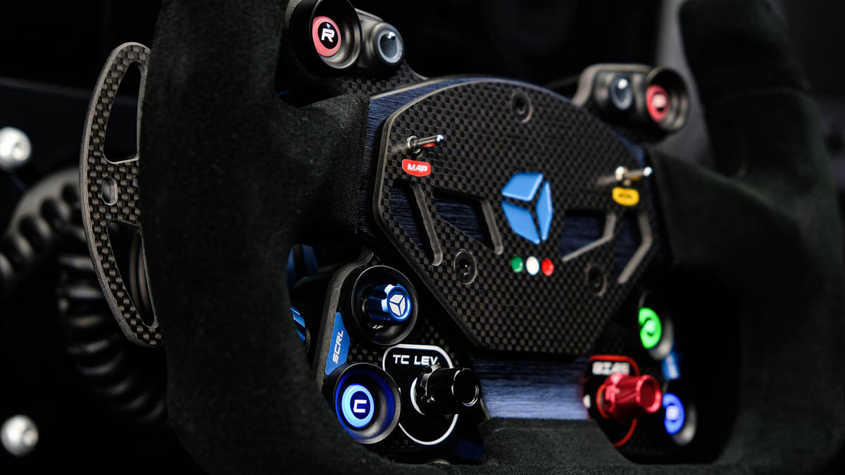 Cube Controls GT Pro Zero - mounted on rig 2 - G-Performance