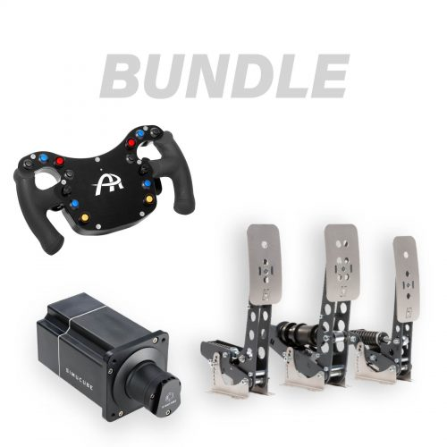 shop.gperformance.eu - BUNDLE - Ascher Racing F28-SC - Simucube 2 Pro - Heusinkveld Sprint pedals - G-Performance