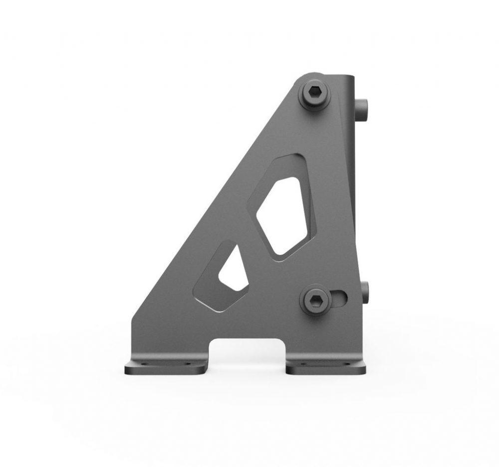 shop.gperformance.eu - Servo motor holder – Adjustable version - side view