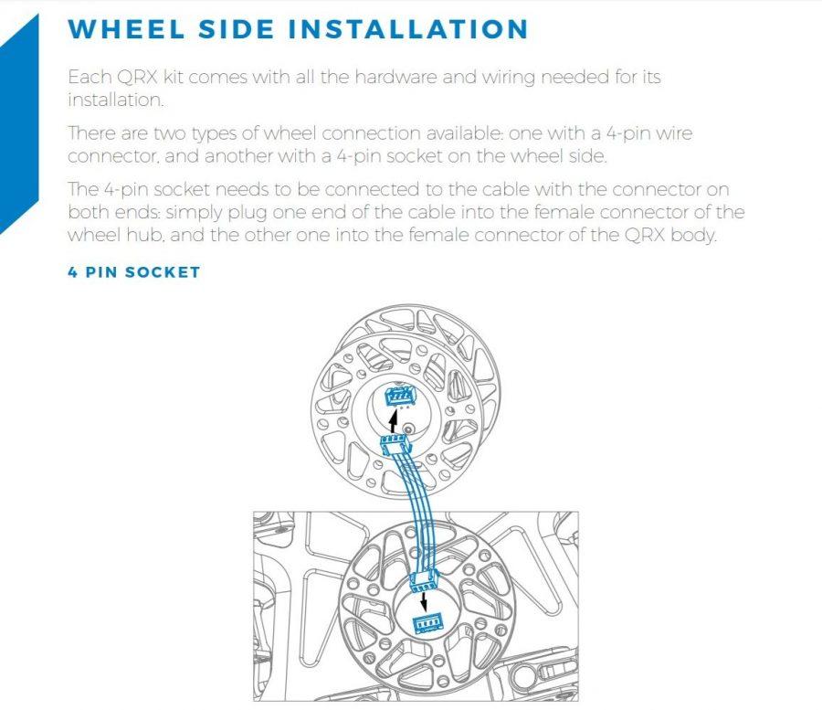 shop.gperformance.eu - Cube Controls QRX wheel side installation - G-Performance